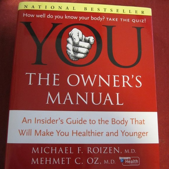 """EUC """"YOU The Owner's Manual"""" HC 1st ed. 2005"""